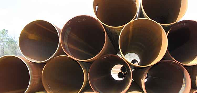 stacked structual pipe